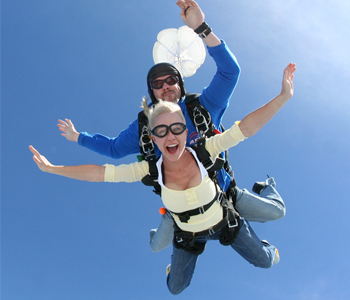 Holiday Sky Diving Gift Vouchers