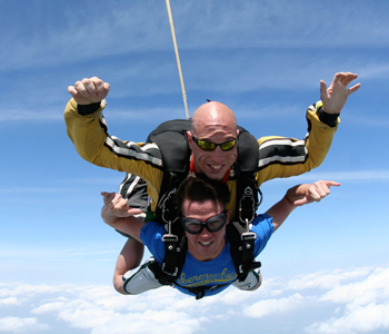 Christmas Sky Diving Gift Vouchers