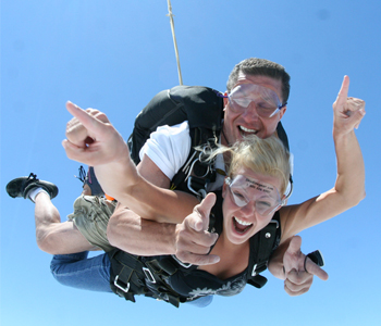 Holiday Tandem Skydive Gift Vouchers
