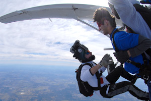 Get a Video of your Skydive in Modesto!